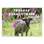 Bad Black Sheep Greeting Cards