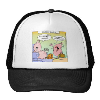 Bad Bladder Relationships Funny Gifts & Collectibl Trucker Hat