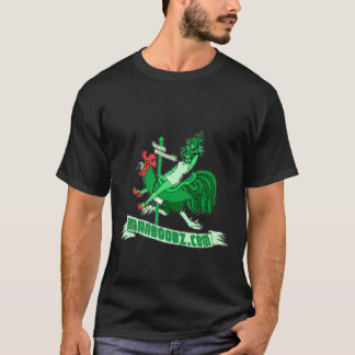 Bad Boy Carousel T-shirt (green and red)