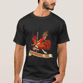 Bad Boy Carousel T-shirt (warm colors, no text)