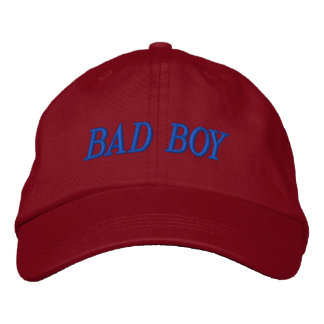 BAD BOY EMBROIDERED BASEBALL HAT