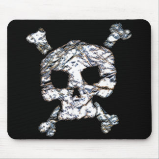 bad boy skull and cross bones mouse pad