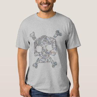 bad boy skull and cross bones t-shirt