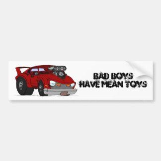 Bad Boys Mean Toys bumper sticker Car Bumper Sticker