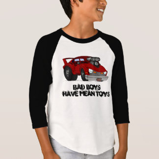 Bad Boys Mean Toys kids shirt