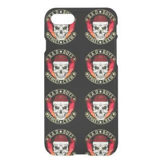 Bad Boys Street Crew Bandana Skull Black & Gold iPhone 8/7 Case
