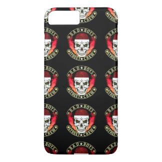 Bad Boys Street Crew Bandana Skull Black & Gold iPhone 8 Plus/7 Plus Case