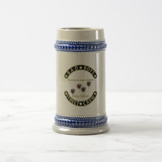 Bad Boys They failed Black & Gold Beer Stein