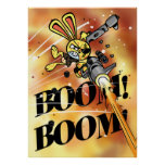 Bad Bunny BOOM BOOM! Poster