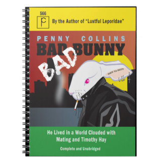 BAD BUNNY SPIRAL NOTEBOOKS