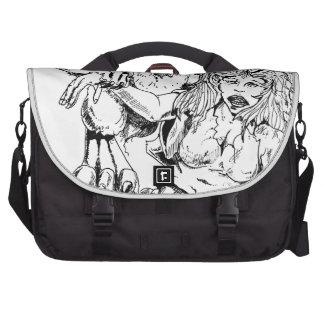 BAD BUNNY WABBIT Artist Original Sketch and Design Bags For Laptop