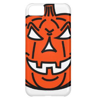 Bad cartoon pumpkin iPhone 5C case