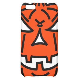 Bad cartoon pumpkin cover for iPhone 5C