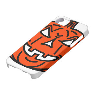 Bad cartoon pumpkin iPhone SE/5/5s case
