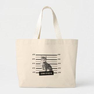 Bad Cat Canvas Bag