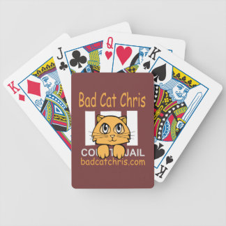 Bad Cat Chris Bicycle Playing Cards