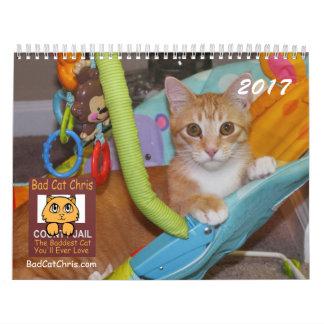 Bad Cat Chris Calendar