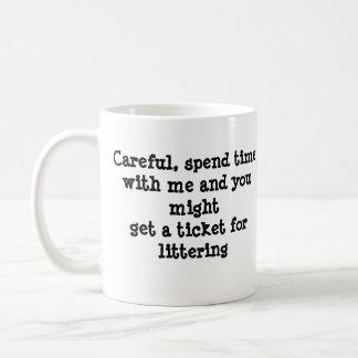 Bad Cat Pick Up Lines #3 Coffee Mug