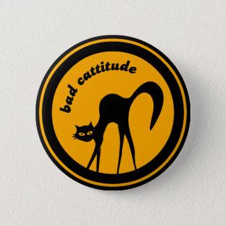 Bad Cattitude button