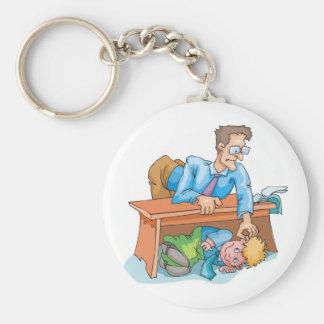 Bad Classroom Behavior Keychain