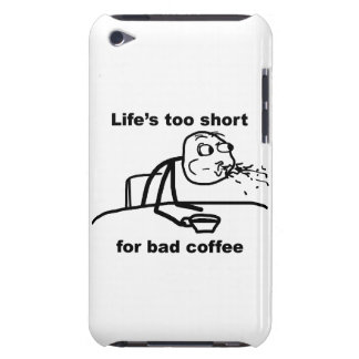 Bad Coffee iPod Case-Mate Case