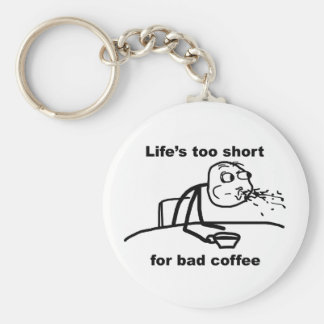 Bad Coffee Keychain
