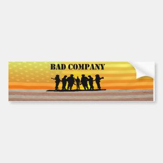 Bad Company 6 Bumper Sticker