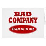 Bad Company Felicitacion
