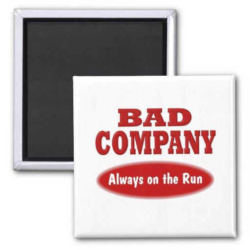 Bad Company Imán De Frigorífico