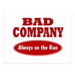 Bad Company Tarjeta Postal