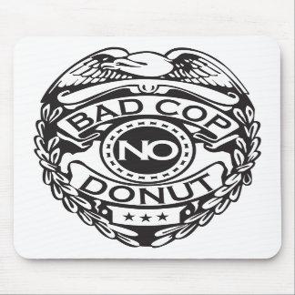 Bad Cop No Donut - Black Mousepad