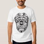 Bad Cop No Donut - Black Tshirts