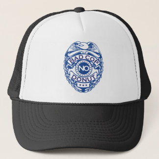 Bad Cop No Donut - Blue Trucker Hat