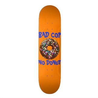 BAD COP = NO DONUT ORANGE SKATEBOARD DECKS