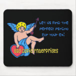 Bad Cupid Mouse Pad
