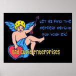 Bad Cupid Print
