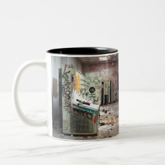 Bad Day At The Office Two-Tone Coffee Mug