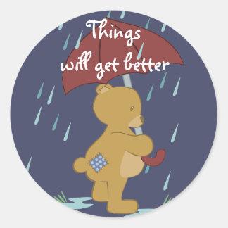 Bad Day Bear Sticker