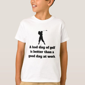 Bad Day Of Golf T-Shirt