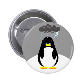 Bad Day Penguin Button