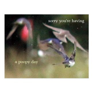 Bad day postcard