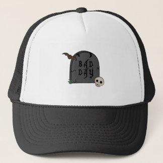 Bad Day Tombstone Trucker Hat