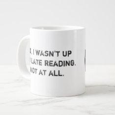 Bad Decisions Book Club Extra Large Coffee Mug at Zazzle