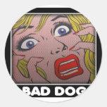 BAD dog 2 Etiqueta
