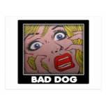 bad dog 2 postcard
