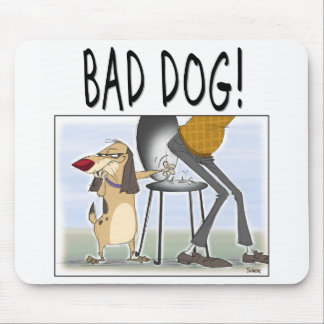 Bad Dog Mouse Pad