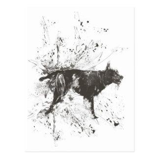 Bad dog post cards
