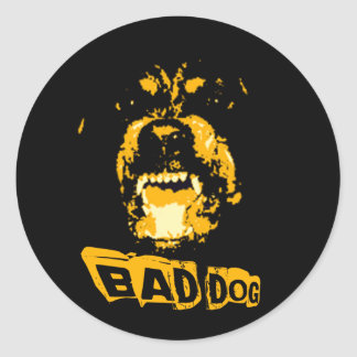 Bad Dog Stickers