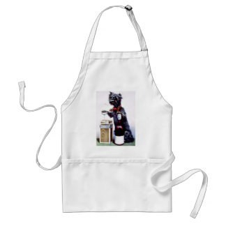 Bad Dog Vintage poster Adult Apron