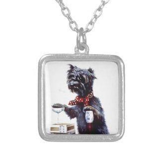 Bad Dog Vintage poster Custom Necklace